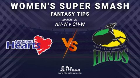 AH-W vs CH-W Dream11 Fantasy Prediction: Playing 11, Pitch Report, Weather Forecast, Stats, Squads, Top Picks, Match Updates – Women's Super Smash 2020-21