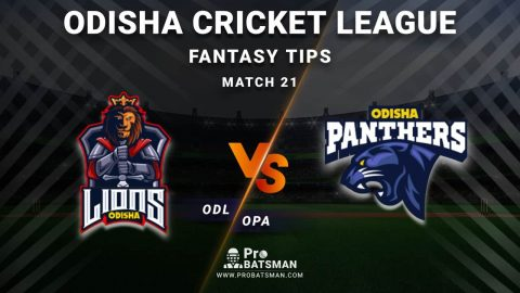 ODL vs OPA Dream11 Fantasy Predictions: Playing 11, Pitch Report, Weather Forecast, Head-to-Head, Best Picks, Match Updates – Odisha Cricket League 2020-21