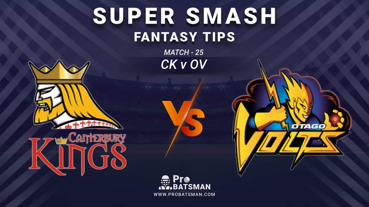 CK vs OV Dream11 Prediction, Fantasy Cricket Tips: Playing XI, Weather, Pitch Report and Injury Update – Super Smash 2020-21, Match 25