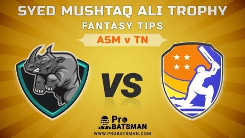 ASM vs TN Dream11 Fantasy Predictions: Playing 11, Pitch Report, Weather Forecast, Match Updates of Elite B Group – Syed Mushtaq Ali Trophy 2021