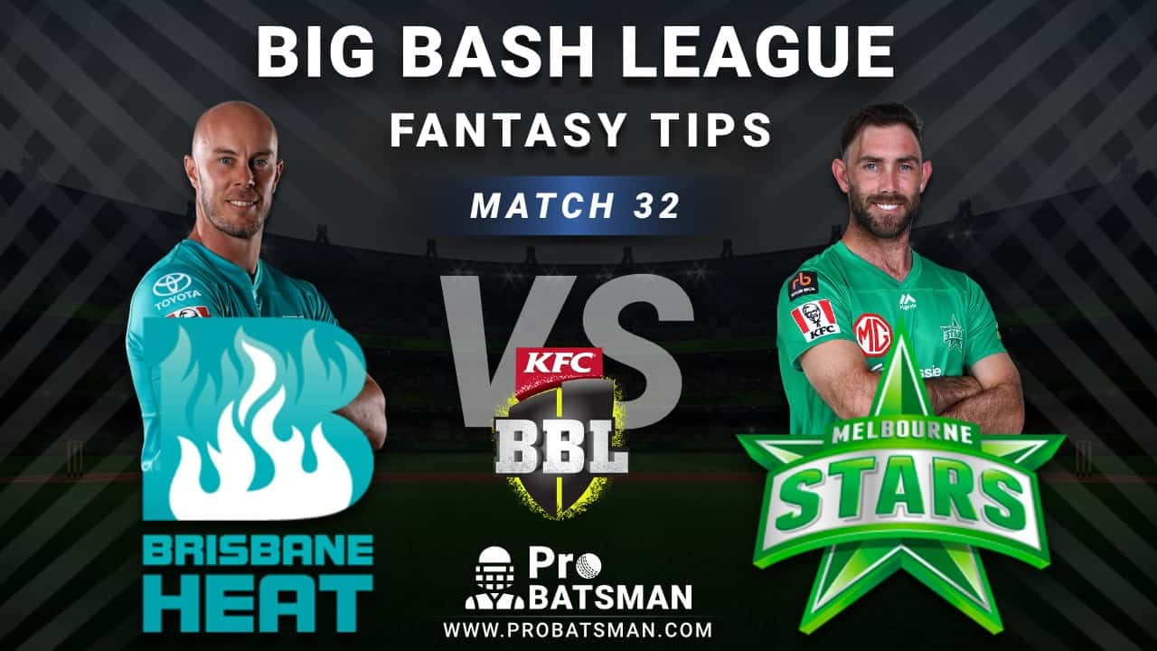 HEA vs STA Dream11 Fantasy Predictions: Playing 11, Pitch Report, Weather Forecast, Head-to-Head, Best Picks, Match Updates – BBL 2020-21