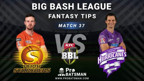 SCO vs HUR Dream11 Fantasy Predictions: Playing 11, Pitch Report, Weather Forecast, Head-to-Head, Best Picks, Match Updates – BBL 2020-21