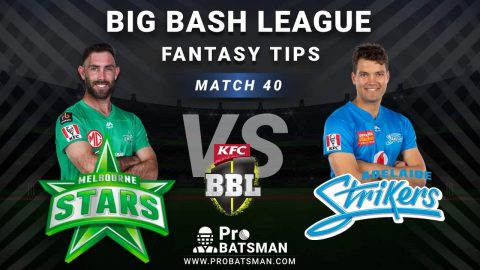 STA vs STR Dream11 Fantasy Predictions: Playing 11, Pitch Report, Weather Forecast, Head-to-Head, Best Picks, Match Updates – BBL 2020-21