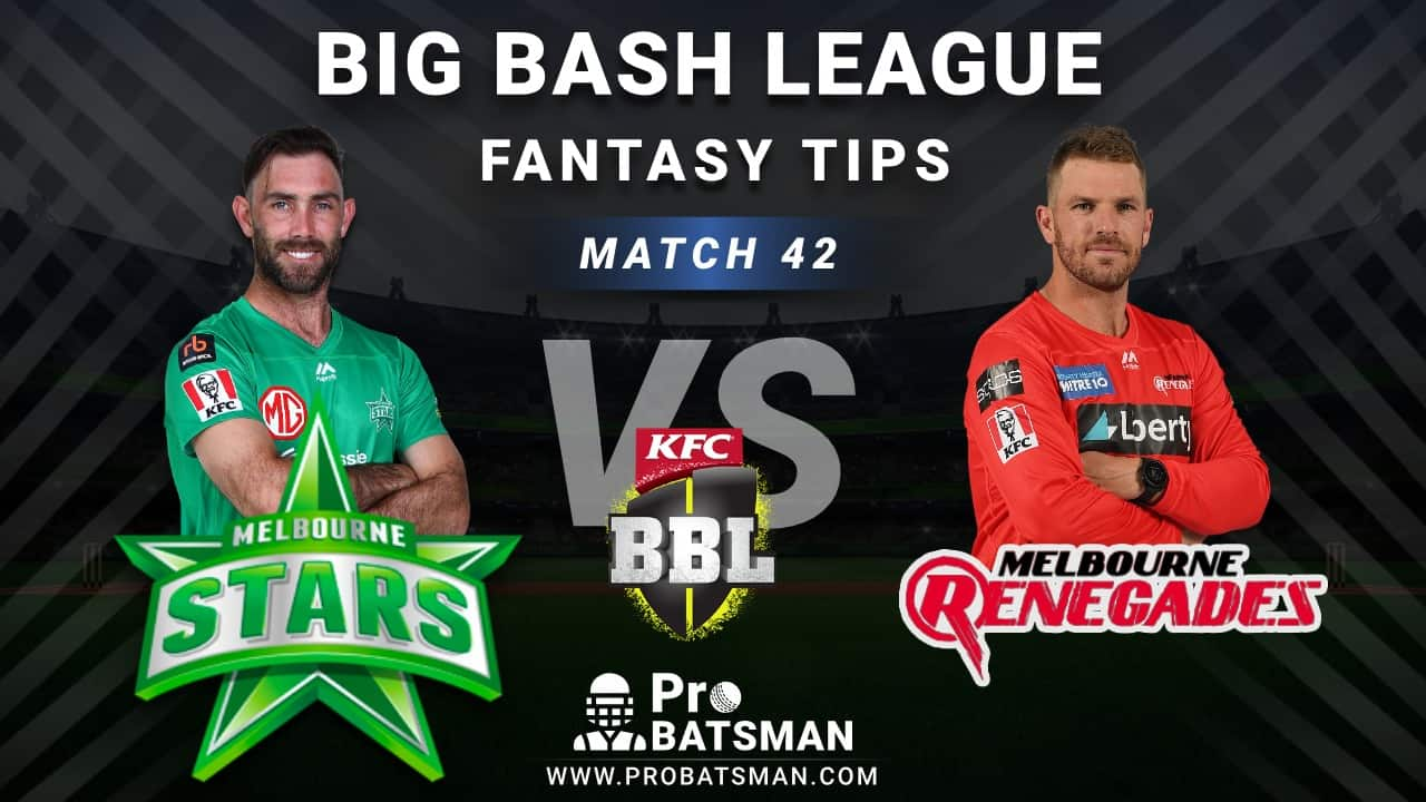 STA vs REN Dream11 Fantasy Predictions: Playing 11, Pitch Report, Weather Forecast, Head-to-Head, Best Picks, Match Updates – BBL 2020-21