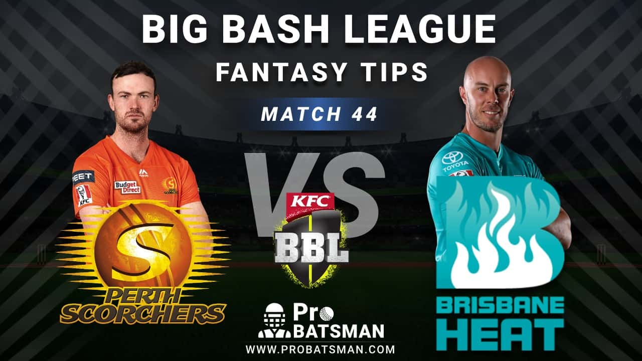 SCO vs HEA Dream11 Fantasy Predictions: Playing 11, Pitch Report, Weather Forecast, Head-to-Head, Best Picks, Match Updates – BBL 2020-21