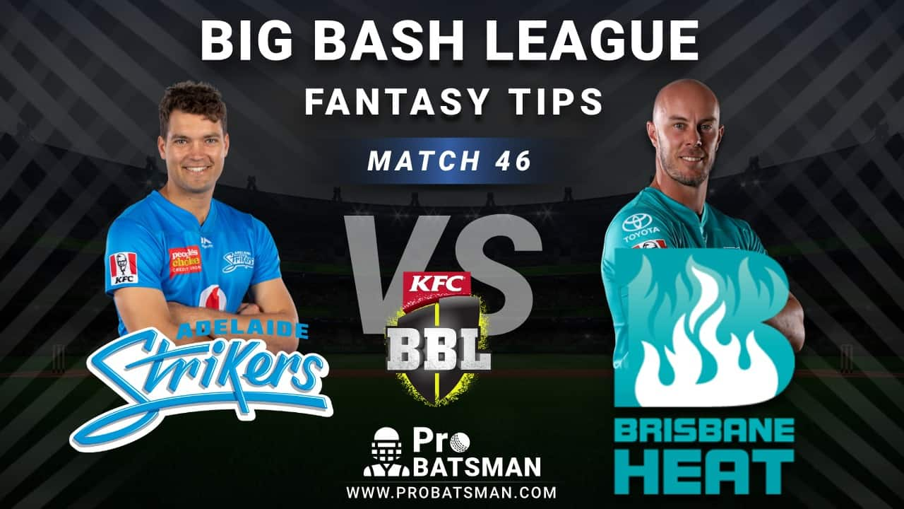 STR vs HEA Dream11 Fantasy Predictions: Playing 11, Pitch Report, Weather Forecast, Head-to-Head, Best Picks, Match Updates – BBL 2020-21