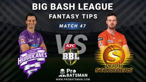 HUR vs SCO Dream11 Fantasy Predictions: Playing 11, Pitch Report, Weather Forecast, Head-to-Head, Best Picks, Match Updates – BBL 2020-21