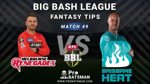 REN vs HEA Dream11 Fantasy Predictions: Playing 11, Pitch Report, Weather Forecast, Head-to-Head, Best Picks, Match Updates – BBL 2020-21