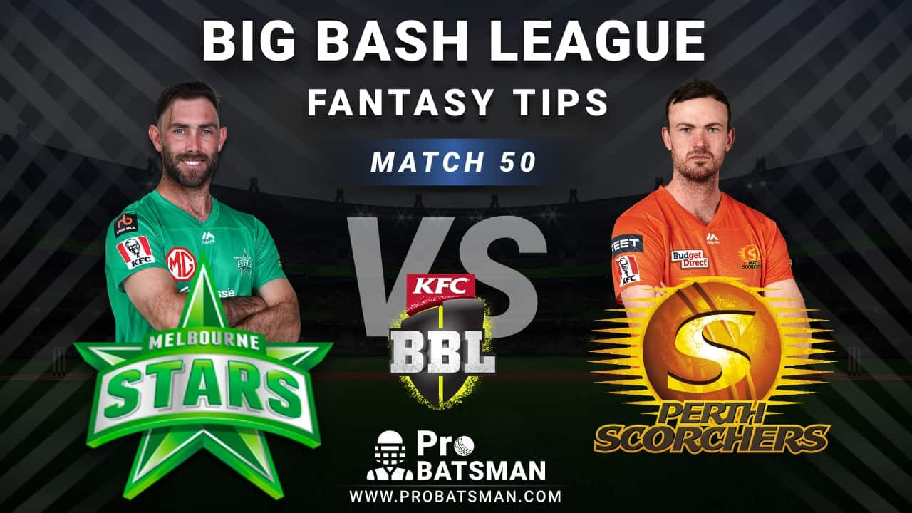 STA vs SCO Dream11 Fantasy Predictions: Playing 11, Pitch Report, Weather Forecast, Head-to-Head, Best Picks, Match Updates – BBL 2020-21