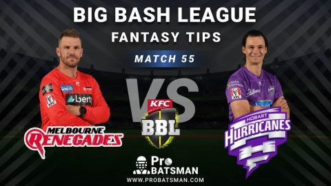 REN vs HUR Dream11 Fantasy Predictions: Playing 11, Pitch Report, Weather Forecast, Head-to-Head, Best Picks, Match Updates – BBL 2020-21