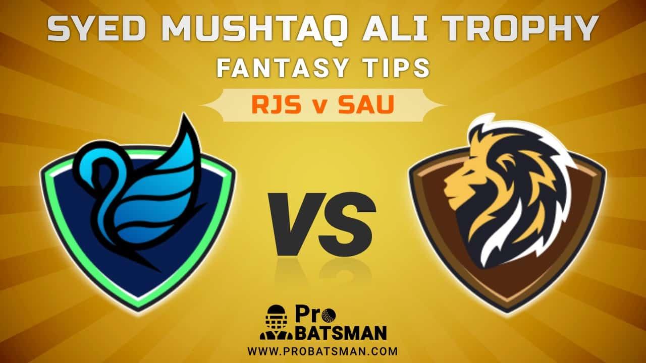 RJS vs SAU Dream11 Fantasy Team Predictions