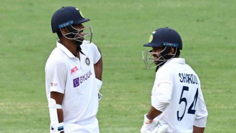 IND vs AUS: Outstanding Application And Belief by Washington Sundar And Shardul Thakur - Virat Kohli