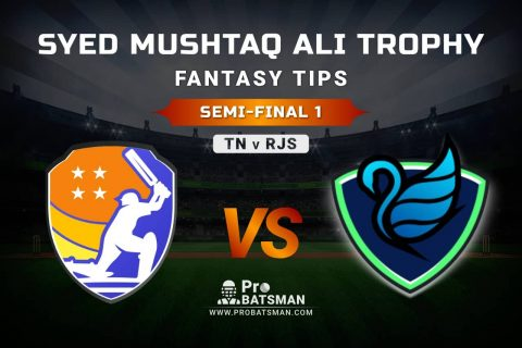TN vs RJS Dream11 Fantasy Prediction: Playing 11, Pitch Report, Weather Forecast, Match Updates of Semi-Final 1 – Syed Mushtaq Ali Trophy 2021