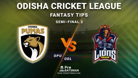OPU vs ODL Dream11 Fantasy Predictions: Playing 11, Pitch Report, Weather Forecast, Head-to-Head, Best Picks, Match Updates – Semi-Final 2, Odisha Cricket League 2020-21