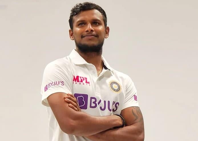 """""""A Proud Moment To Wear The White Jersey""""-T Natarajan As He Flaunts Team India Test Jersey"""