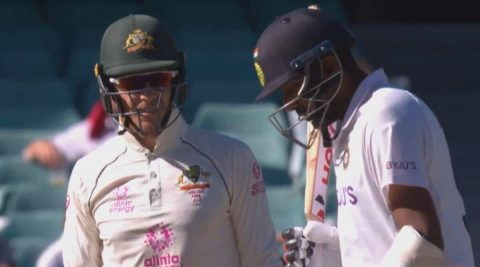 Wanna Get You to India, Will be Your Last Series - R Ashwin Gives it Back to Tim Paine After his Sledging Attempt