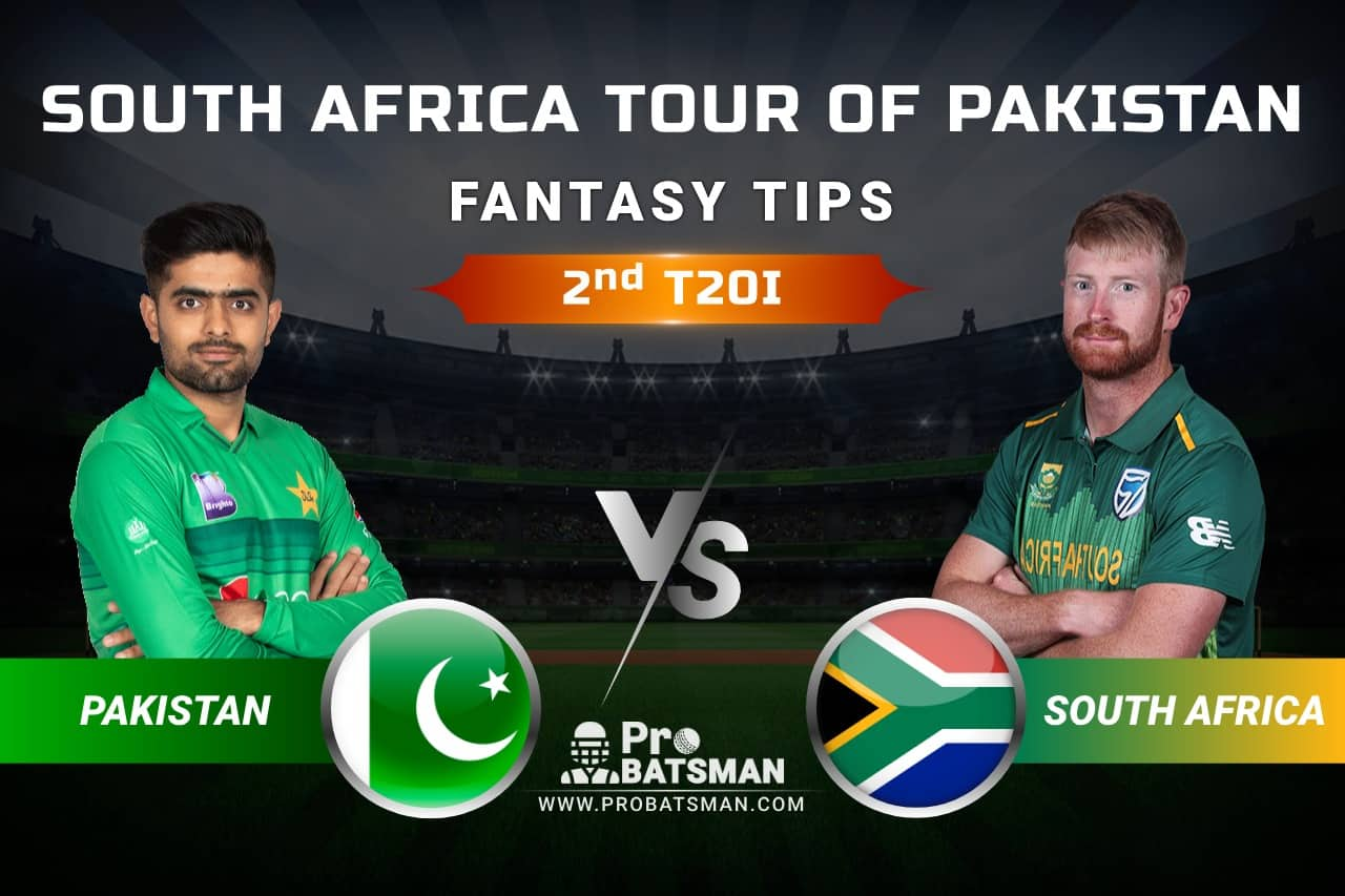 PAK vs SA Dream11 Prediction, Fantasy Cricket Tips: Playing XI, Weather, Pitch Report, Head-to-Head and Injury Update, 2nd T20I - South Africa Tour of Pakistan 2021