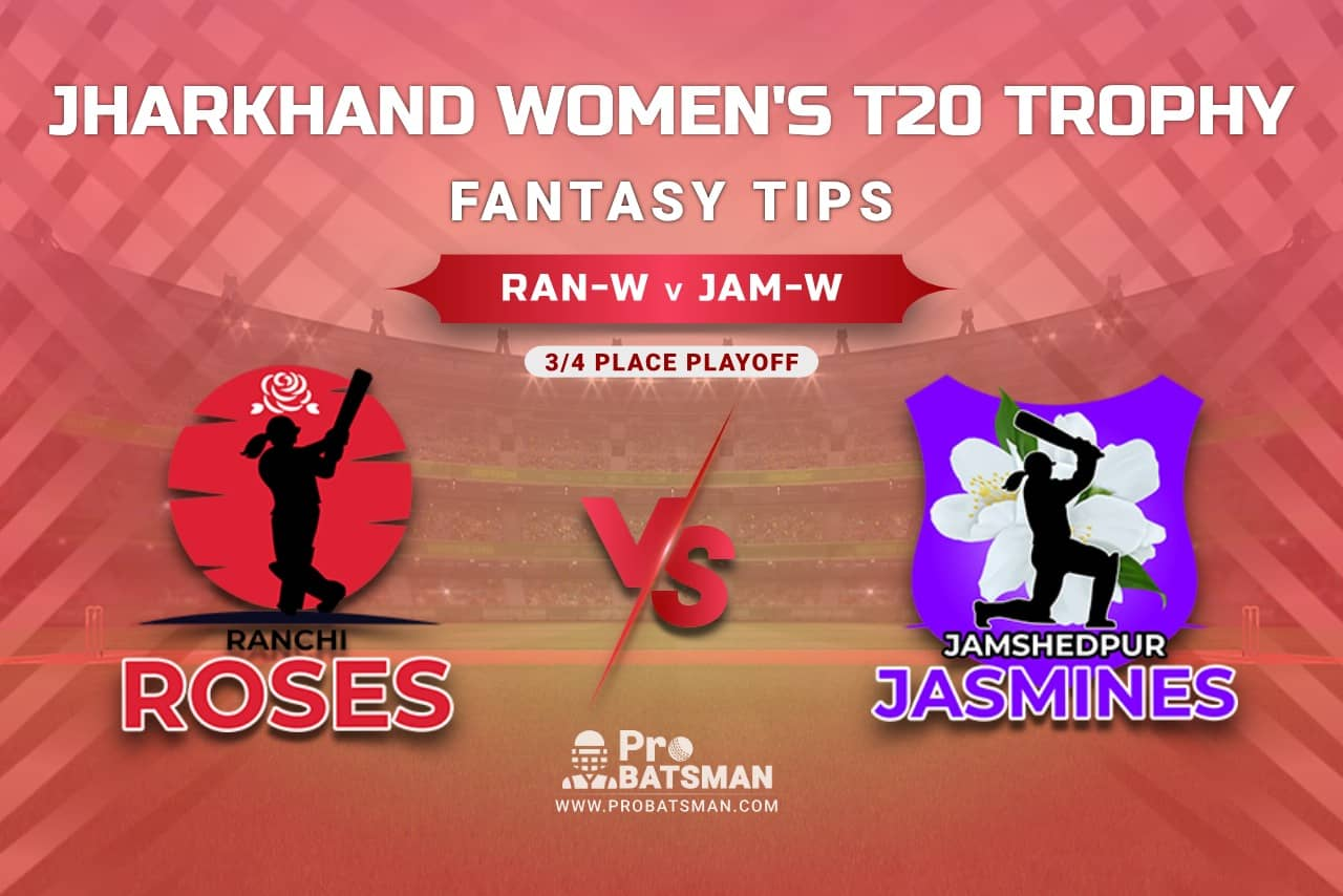 RAN-W vs JAM-W Dream11 Prediction, Fantasy Cricket Tips: Playing 11, Pitch Report, Injury Update – Jharkhand Women's T20 Trophy 2021, 3/4 Place Playoff