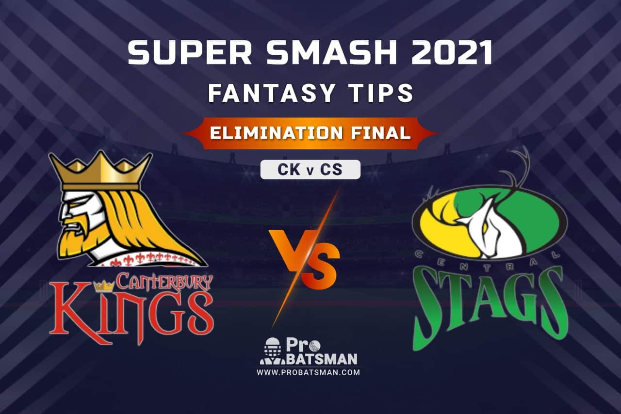 CK vs CS Dream11 Fantasy Prediction: Playing 11, Pitch Report, Weather Forecast, Stats, Squads, Top Picks, Match Updates, Elimination Final – Super Smash 2020-21