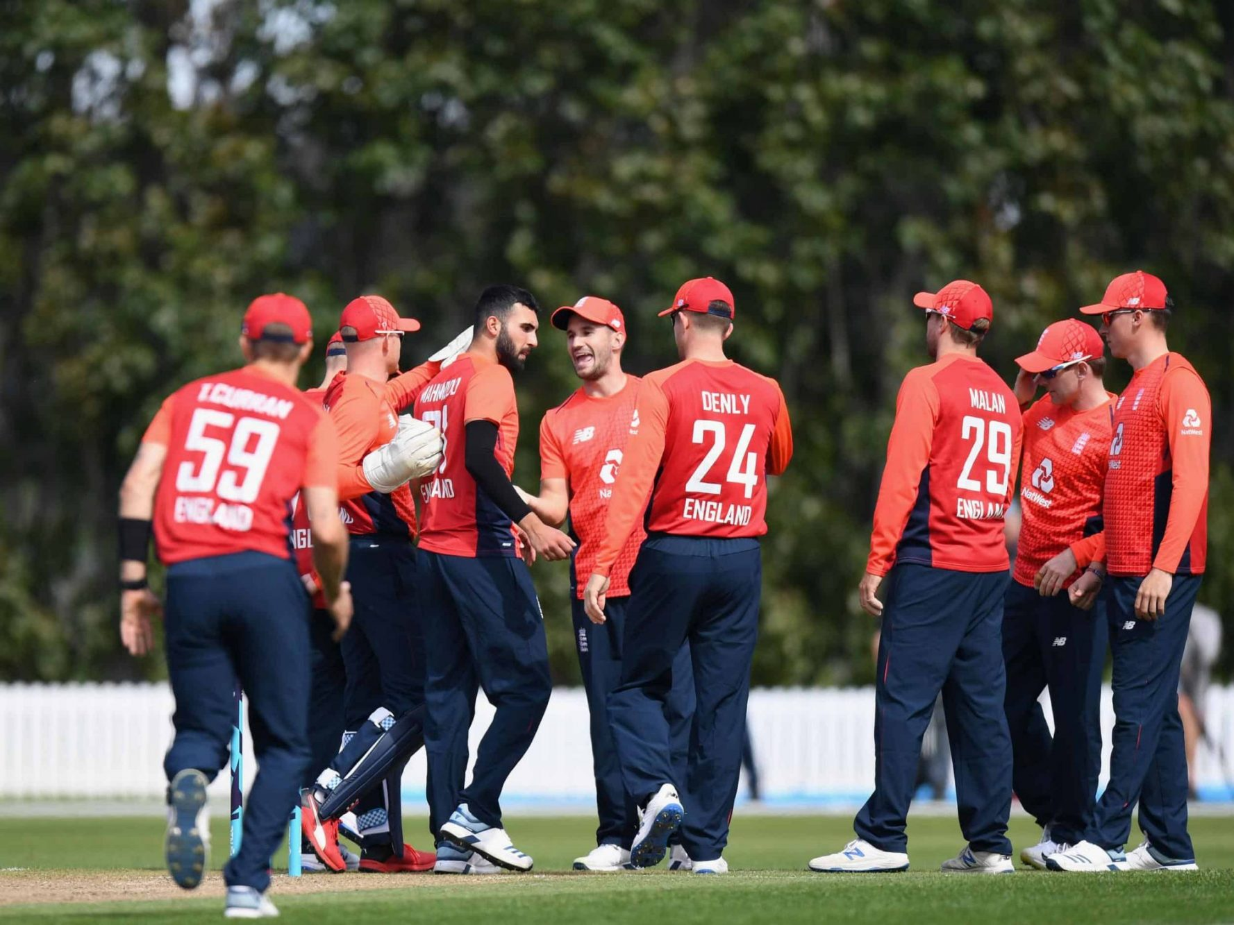 England Announce 16-Member Squad for T20I Series Against India
