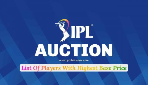 IPL 2021 Auction: List of Players With Highest Base Price