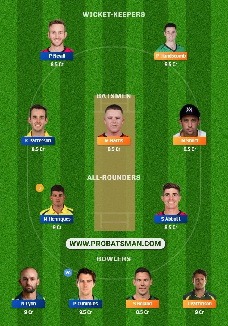 VCT vs NSW Dream11 Fantasy Team Prediction