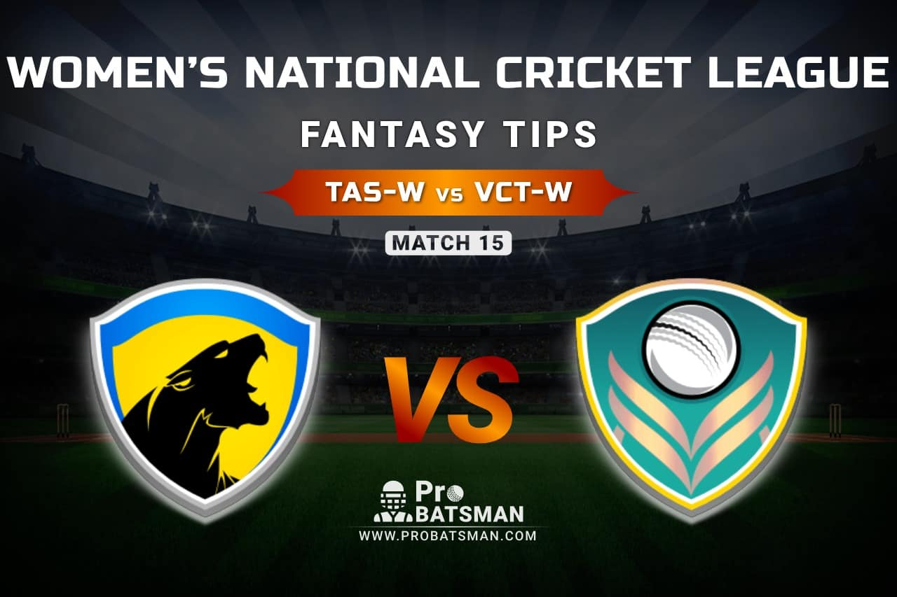 TAS-W vs VCT-W Dream11 Prediction, Fantasy Cricket Tips: Playing XI, Weather, Pitch Report, & Injury Update – Women's National Cricket League 2021, Match 15