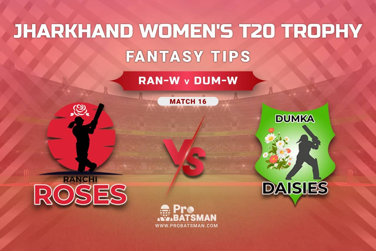 RAN-W vs DUM-W Dream11 Prediction, Fantasy Cricket Tips: Playing XI, Weather, Pitch Report, Head-to-Head, Injury Update – Jharkhand Women's T20 Trophy 2021, Match 16