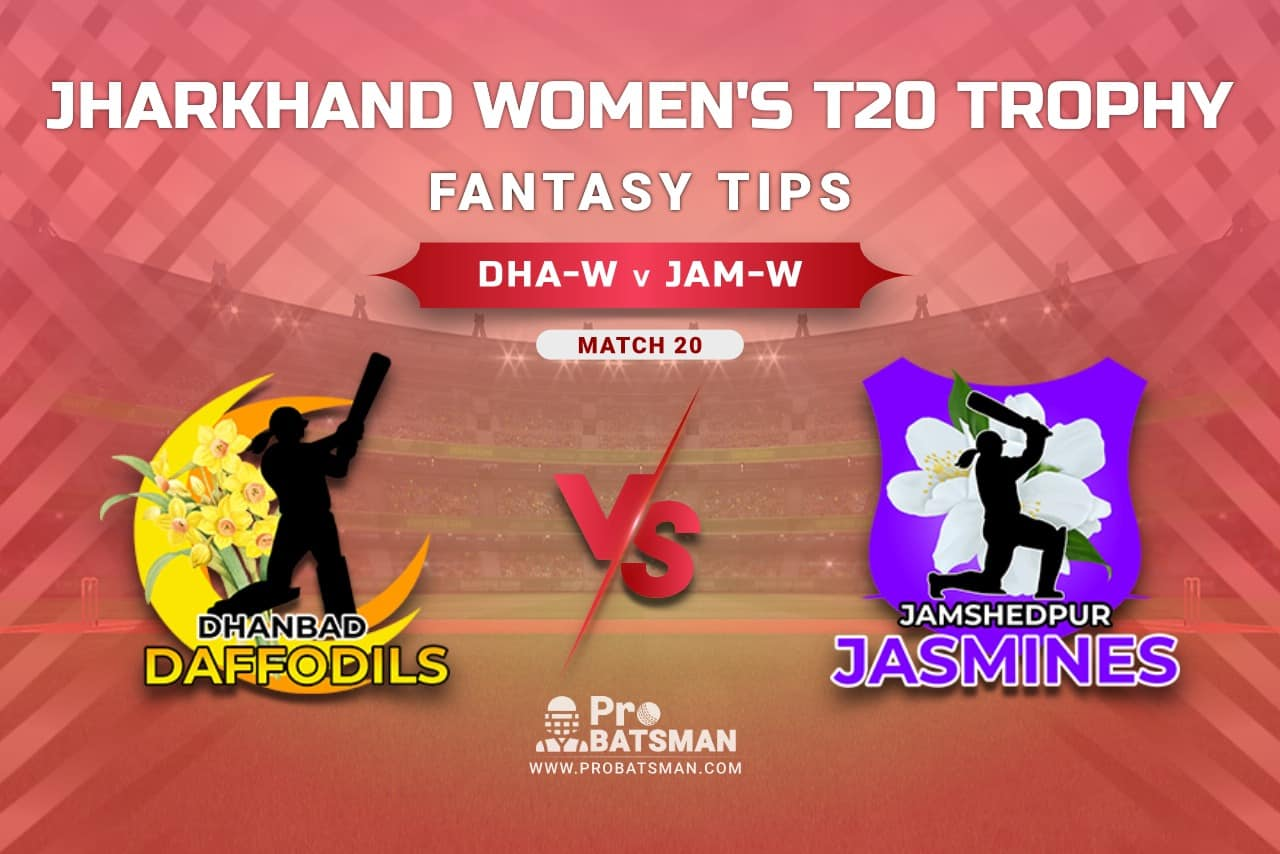 DHA-W vs JAM-W Dream11 Prediction, Fantasy Cricket Tips: Playing XI, Weather, Pitch Report, Head-to-Head, Injury Update – Jharkhand Women's T20 Trophy 2021, Match 20