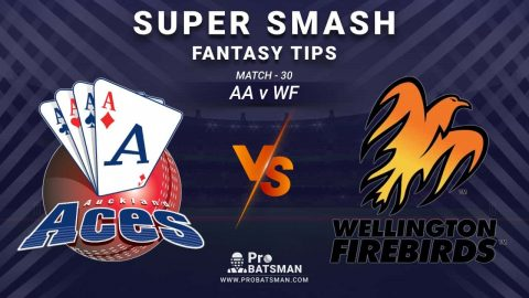 AA vs WF Dream11 Prediction, Fantasy Cricket Tips: Playing XI, Weather, Pitch Report and Injury Update – Super Smash 2020-21, Match 30