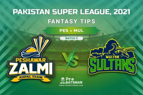 PSL 2021, Match 5 - PES vs MUL Dream11 Prediction, Fantasy Cricket Tips: Playing XI, Weather, Pitch Report, Injury & Availability Update