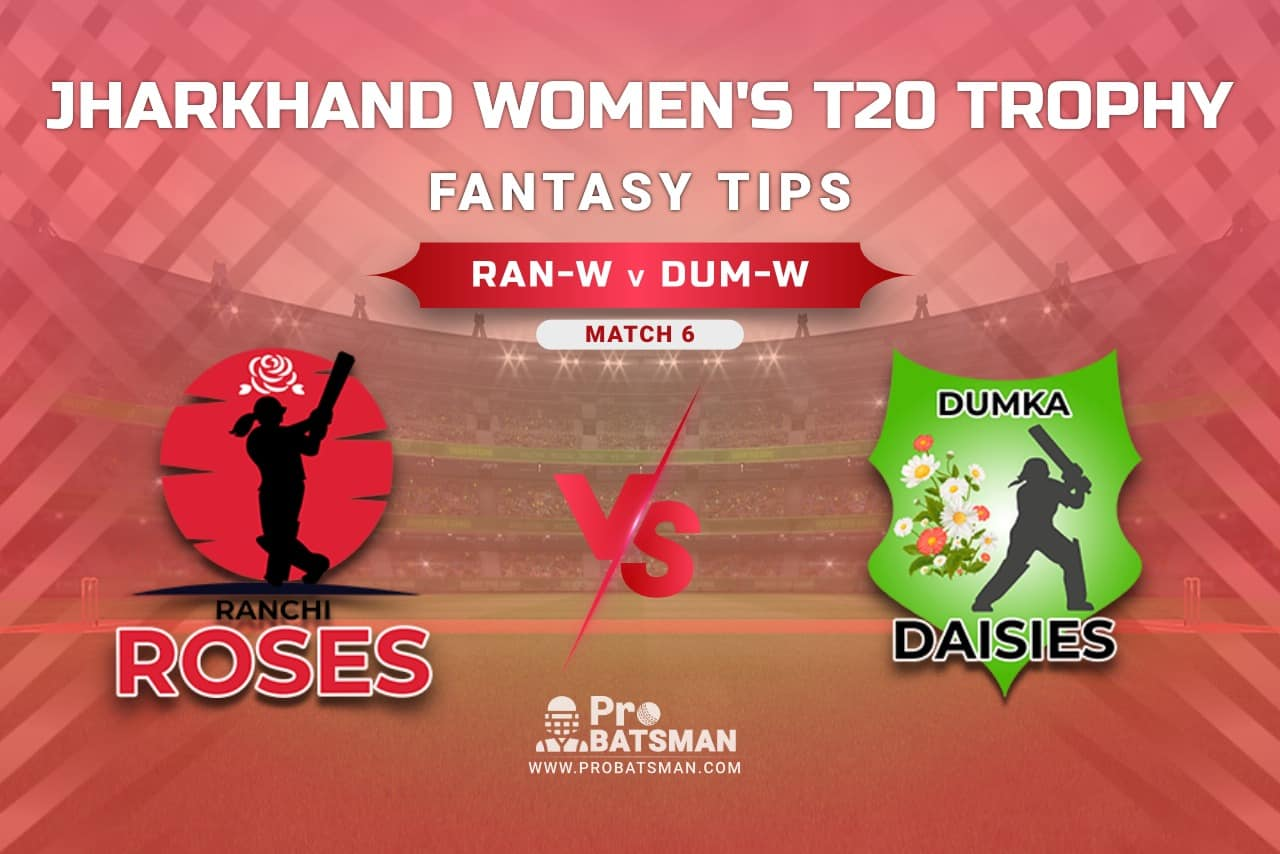 RAN-W vs DUM-W Dream11 Prediction, Fantasy Cricket Tips: Playing XI, Weather, Pitch Report, Head-to-Head, Injury Update – Jharkhand Women's T20 Trophy 2021, Match 6