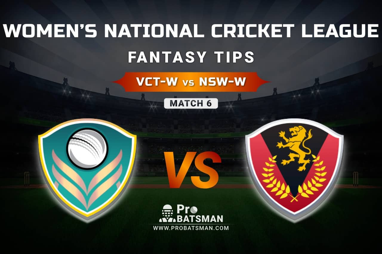 VCT-W vs NSW-W Dream11 Prediction, Fantasy Cricket Tips: Playing XI, Weather, Pitch Report, Head-to-Head and Injury Update – Women's National Cricket League 2021, Match 6