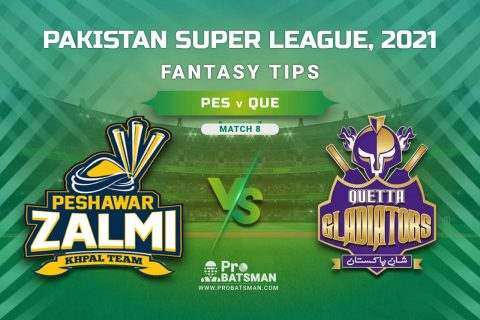 PSL 2021, Match 8 - PES vs QUE Dream11 Prediction, Fantasy Cricket Tips: Playing XI, Weather, Pitch Report, Injury & Availability Update