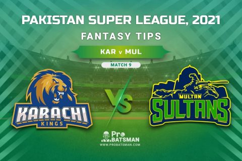 PSL 2021, Match 9 - KAR vs MUL Dream11 Prediction, Fantasy Cricket Tips: Playing XI, Stats, Pitch Report, Injury & Availability Updates
