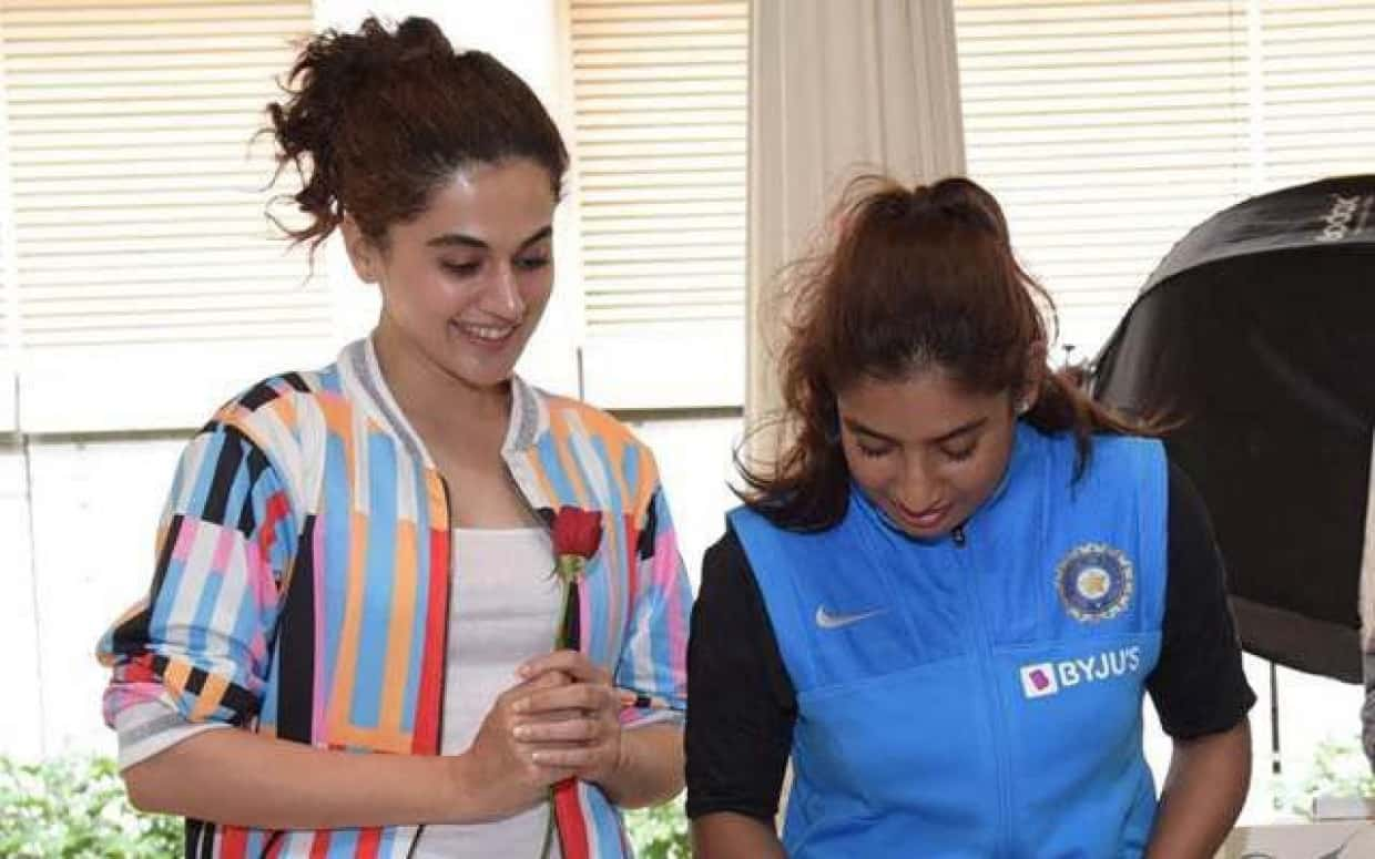 Taapsee Pannu Lambasted a Publication For Calling Mithali Raj 'Former' India Cricketer