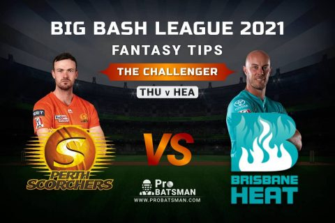 SCO vs HEA Dream11 Prediction, Fantasy Cricket Tips: Playing XI, Pitch Report and Injury Update – Big Bash League 2020-21, The Challenger