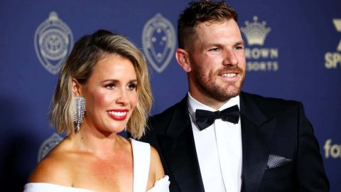 Aaron Finch and his wife receive threats after cricketer's poor form continues