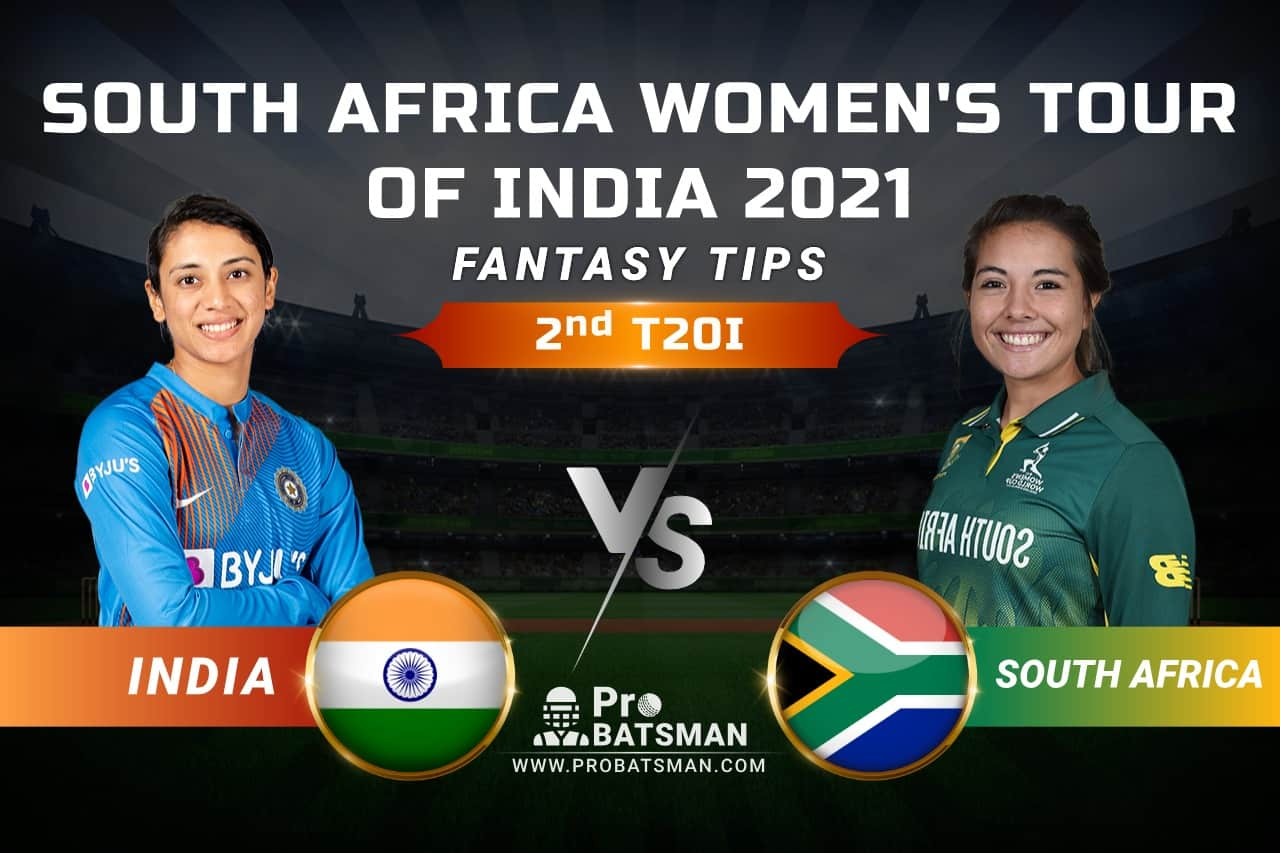 IN-W vs SA-W Dream11 Prediction, Fantasy Cricket Tips: Playing 11, Pitch Report, Squads & Match Updates – South Africa Women Tour of India 2021, 2nd T20I