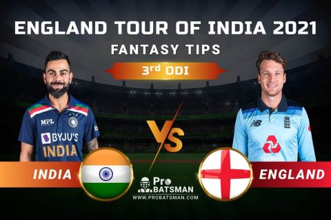 IND vs ENG Dream11 Prediction: India vs England 3rd ODI Playing XI, Pitch Report, Injury & Match Updates – England Tour of India 2021