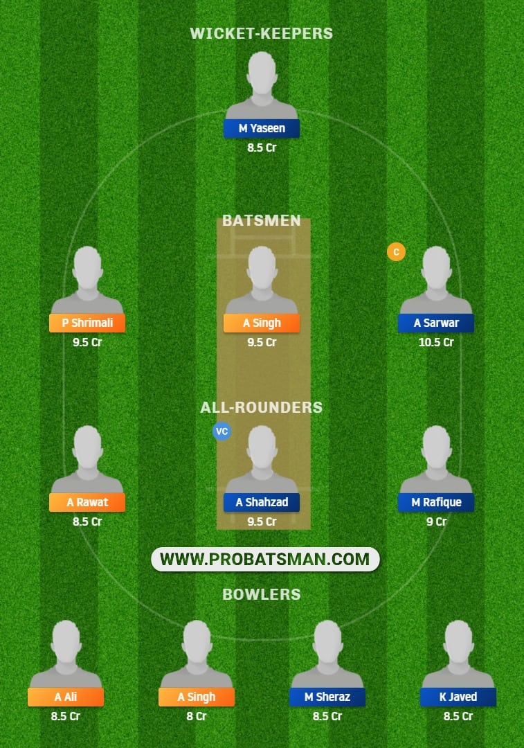 BLP vs FAL Dream11 Fantasy Prediction