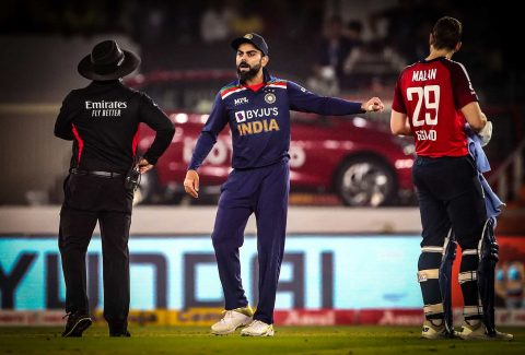 Captain Virat Kohli Engages in Heated Argument With Jos Buttler