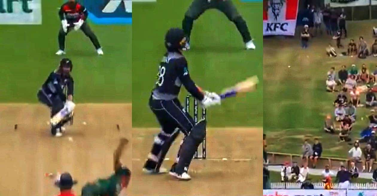 Watch: Devon Conway Imitates Rishabh Pant To Play a Reverse Scoop During 1st T20I Against Bangladesh