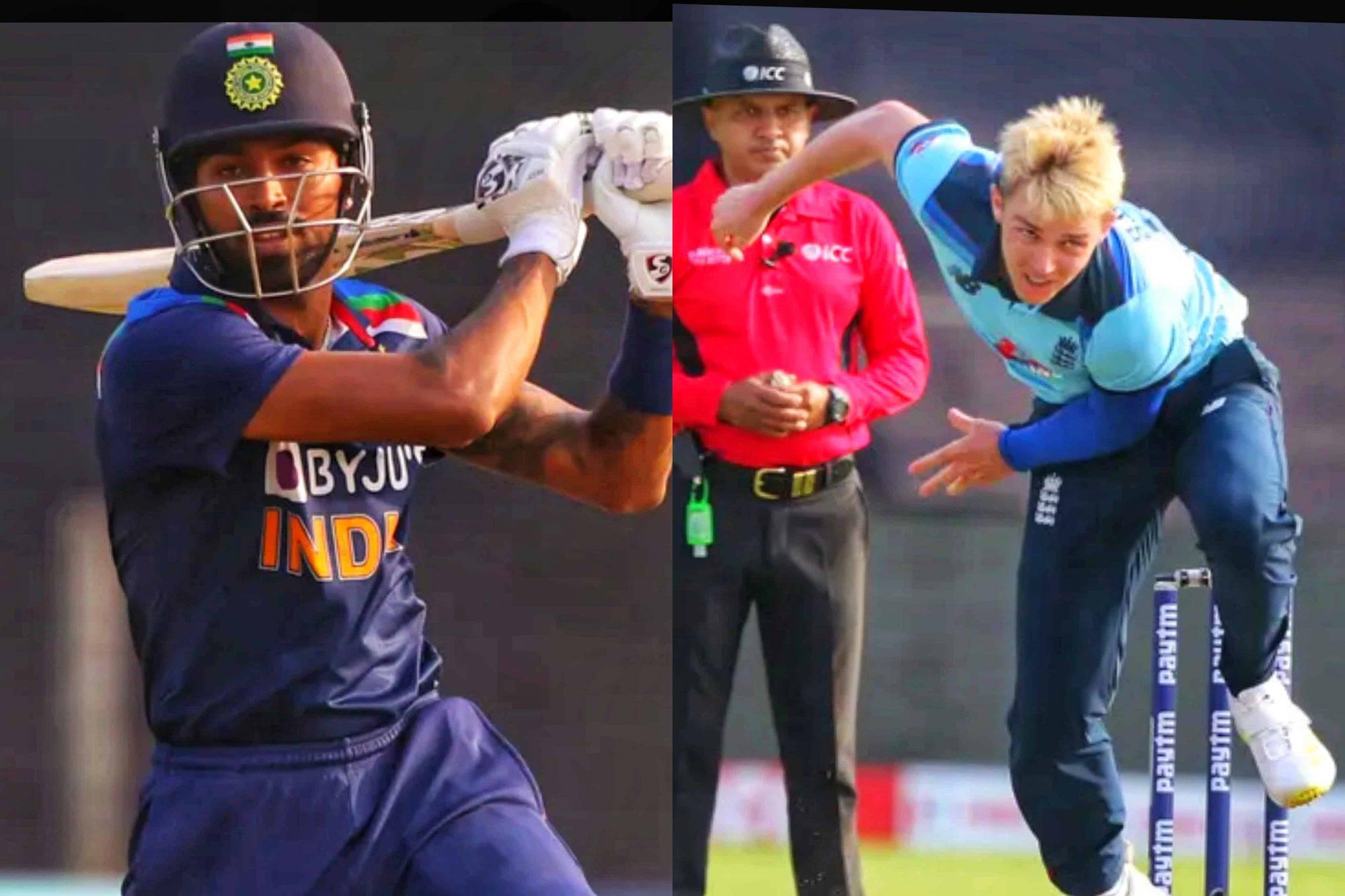 Watch: Sam Curran And Hardik Pandya Engage In A Heated Argument During 2nd ODI • ProBatsman
