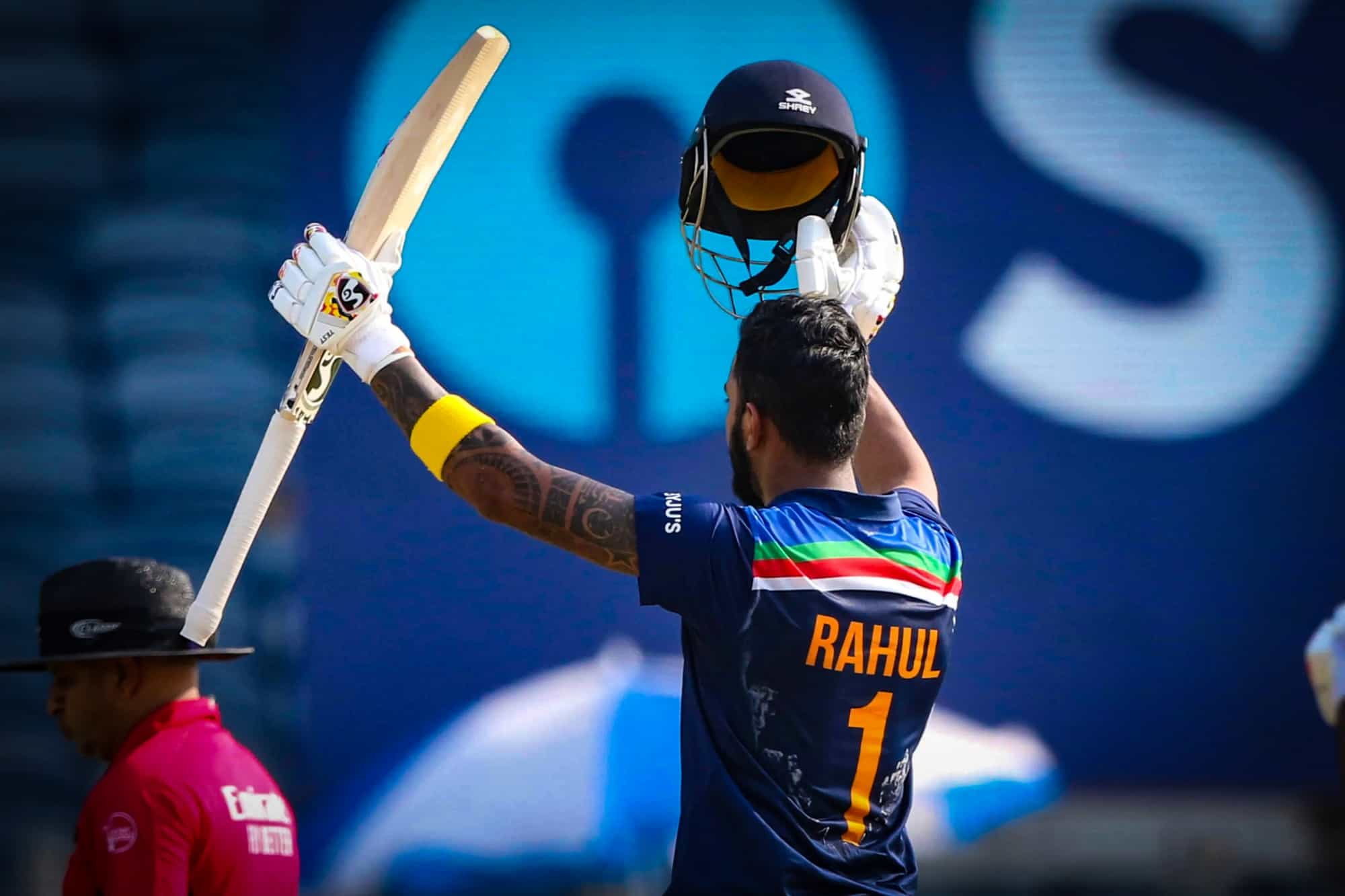 KL Rahul Hits His Fifth Century in ODIs