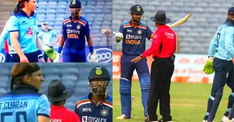 Watch: Krunal Pandya and Tom Curran Involved In Heated Verbal Exchange During 1st ODI Between India-England