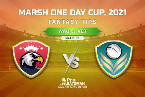 WAU vs VCT Dream11 Prediction, Fantasy Cricket Tips: Playing XI, Weather, Pitch Report, Injury Update – Marsh One Day Cup 2021, Match 11