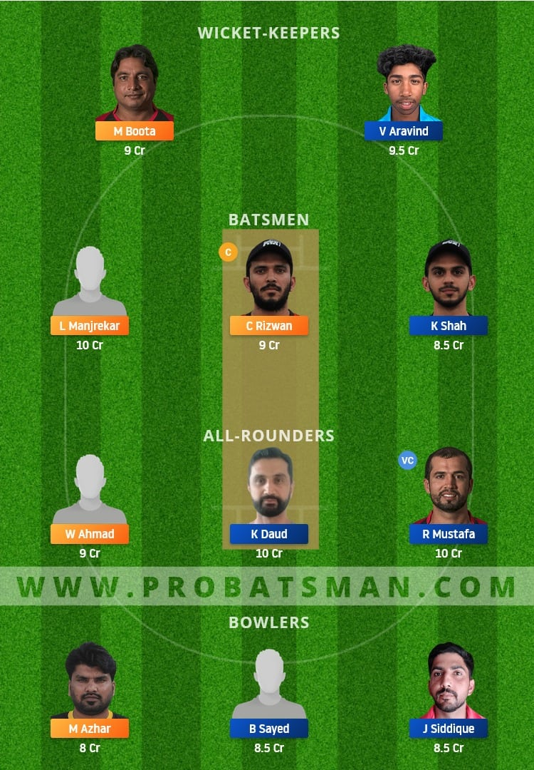 EMB vs SHA Dream11 Fantasy Team Prediction