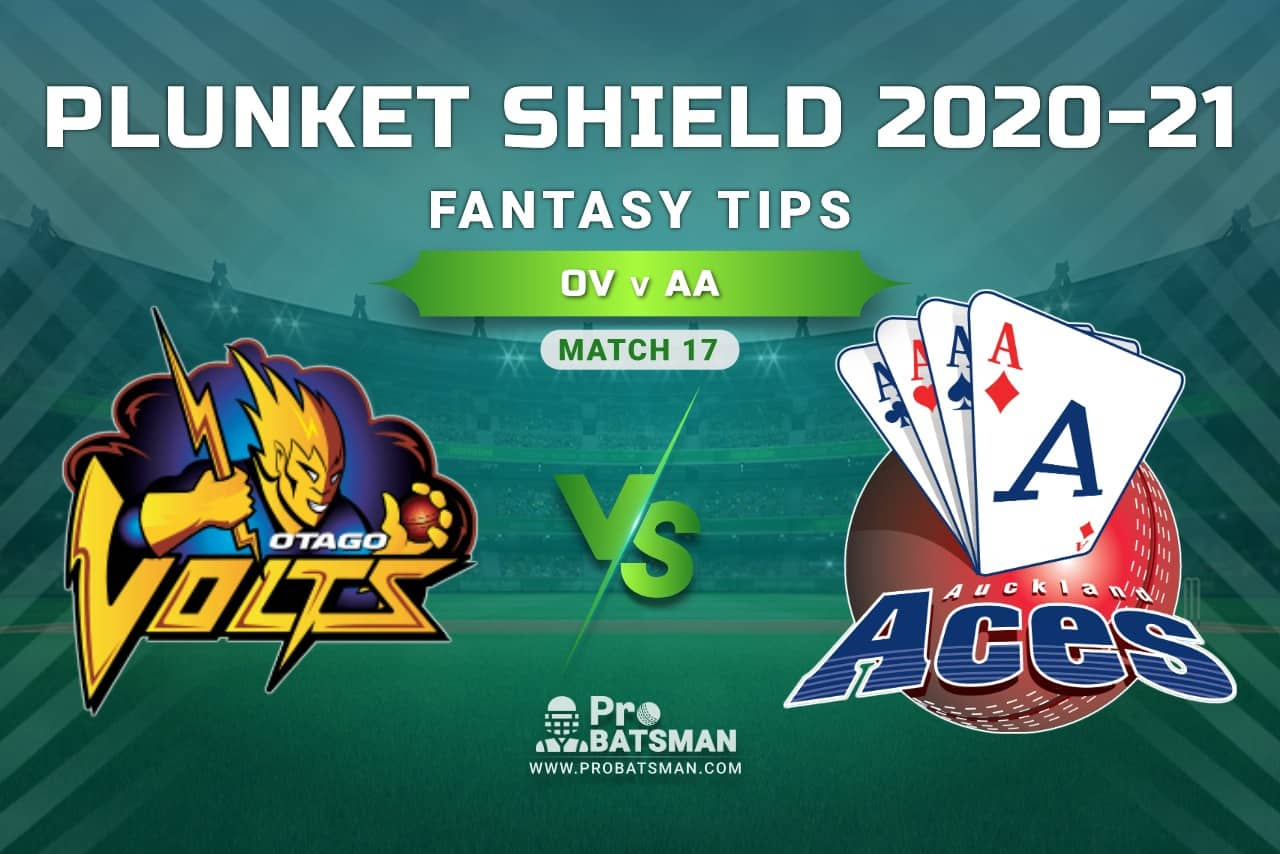 OV vs AA Dream11 Prediction, Fantasy Cricket Tips: Playing XI, Weather, Pitch Report, Injury Update – Plunket Shield 2020-21, Match 17