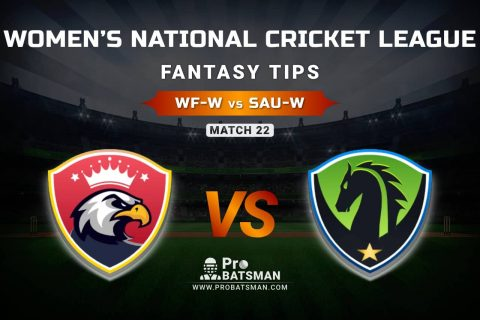 WF-W vs SAU-W Dream11 Prediction, Fantasy Cricket Tips: Playing XI, Weather, Pitch Report, & Injury Update – Women's National Cricket League 2021, Match 22